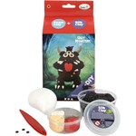 Foam Clay monster set svart