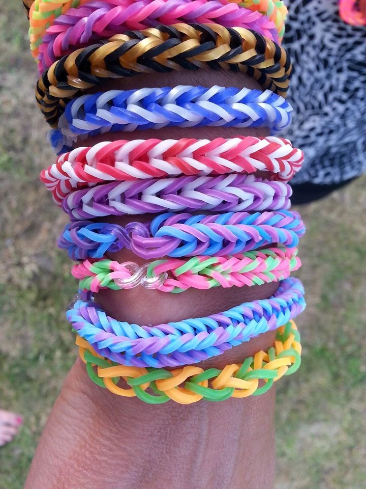 DIY loom bands gummi band