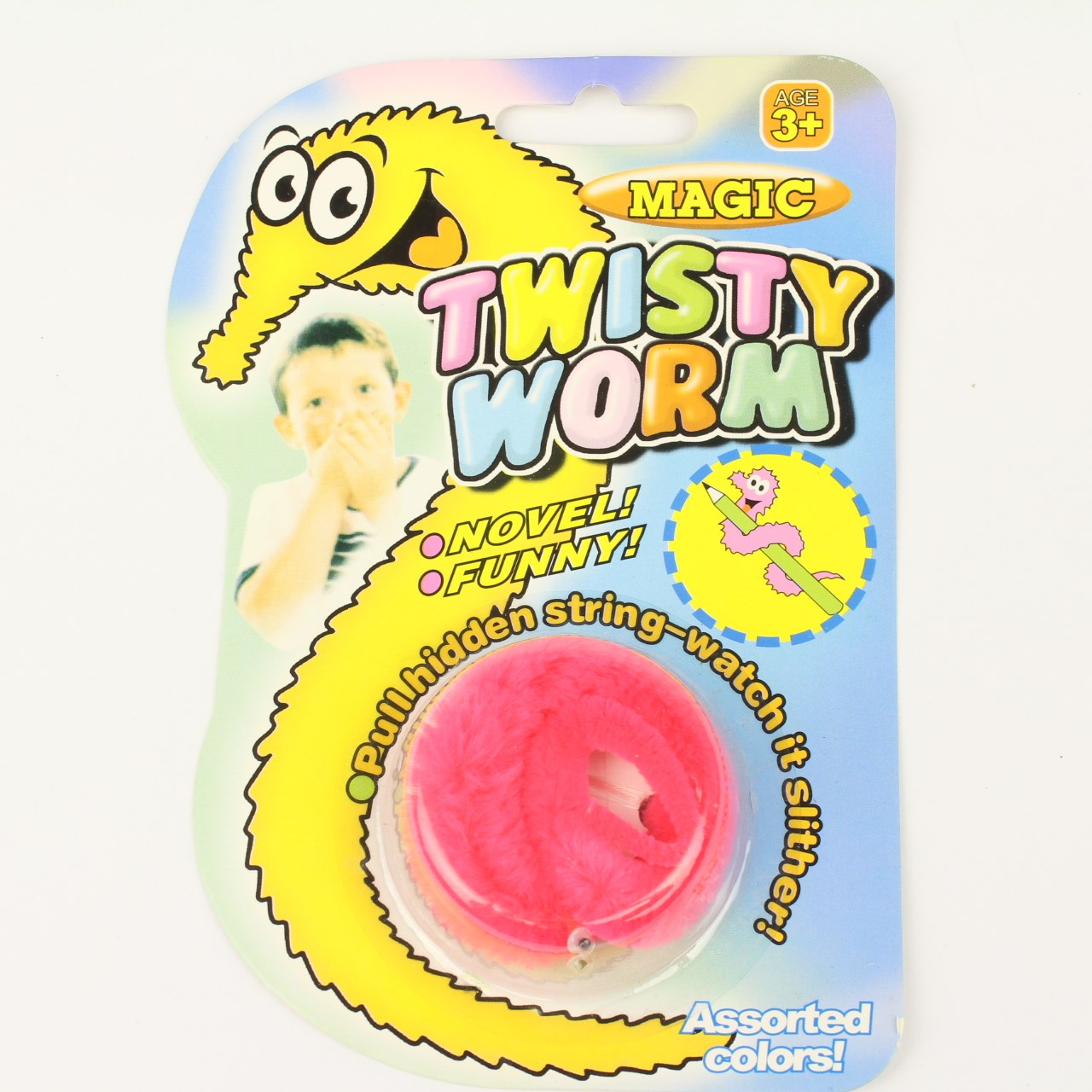 Rosa twisty worm
